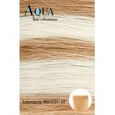 """Aqua Tape In Extensions #613/27 Med/Light Blonde 10pcs 18"""""""