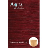 Aqua Tape In Extensions #66/46 Mahogany Red Intense 10pc