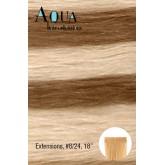 """Aqua Hair Extensions #8/24 18"""""""