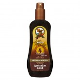 Australian Gold Spray Gel Sunscreen Bronzer SPF 4 8oz