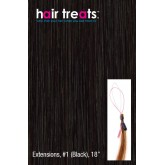 Hair Treats Black 18""