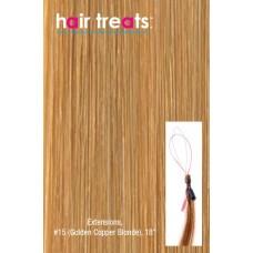 "Hair Treats S15 Golden Copper Blonde 18"""