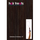 Hair Treats S2 Brown 18""