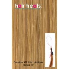"""Hair Treats S27 Ultra Light Golden Blonde 18"""""""