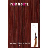 Hair Treats S32 Dark Red Blonde 18""