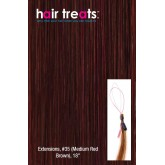 Hair Treats S35 Medium Red Brown 18""
