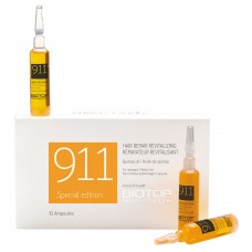 Biotop Professional 911 Quinoa Hair Repair 10 Ampoules Box