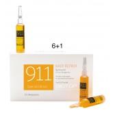Biotop Professional 911 Quinoa Hair Repair Ampoules 6+1