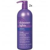 Clairol Professional Shimmer Lights Shampoo 31.5oz 2pk BOGO