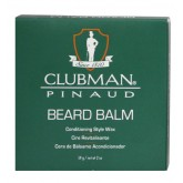 Clubman Beard Balm Styling Wax 2oz