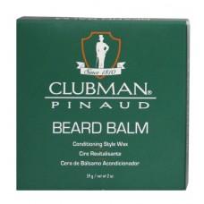 Clubman Beard Balm Styling Wax 2oz