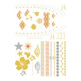 Tassel Temporary Tattoos - So Sunkissed