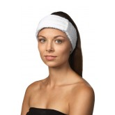 Dannyco Terry Cloth Headband White
