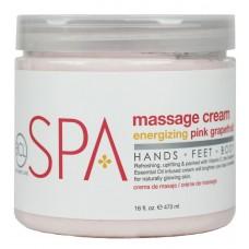 BCL Spa Pink Grapefruit Massage Cream 16oz
