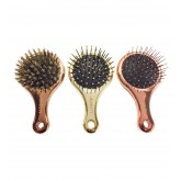 Dannyco Shades Of Gold Mini Paddle Brush
