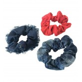 BabylissPro No Stress Hair Scrunchies 3pk