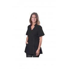 Dannyco Lepro Black Stylish Spa Jacket Small