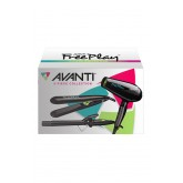 Avanti Freeplay Styling Trio - Hair Dryer + Curling Iron + Flat Iron