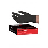 Babyliss PRO Black Nitrile Gloves 100pk - Large