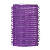 Dannyco Self-gripping Purple Rollers 38mm 6pk