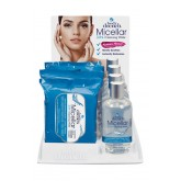 Body Drench Micellar 3-in-1 Cleansing Wipes 8pc Display
