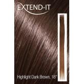 """Extend-it Highlight Dark #2 Brown 18"""""""