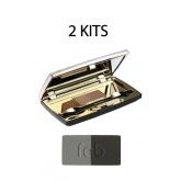 Fab Brows Duo Kit Slate / Black 2pk