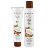 Biosilk Silk Therapy Coconut Oil Curl Offer 2pk