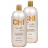 CHI Keratin Shampoo Conditioner Duo 32oz