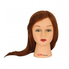 "CHI Mannequin Vanessa Light Brown 18"" + Holder"