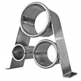 Chrome 3 Ring Side Mount B222