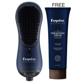Spring Stock Up Esquire Grooming Hand Brush Dryer + Thickening Cream