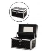 Marianna Aluminum Cosmetic Case Blk 12644