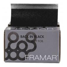 """Framar Back In Black Embossed Pop-Up Foil 5x11"""" - 500 Sheets"""
