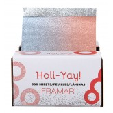 "Framar Holi-Yay 5x11"" Pop-Up Foil - 500 sheets"