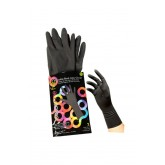 Foil It Color Me Reusable Black Latex Gloves 2pk Small