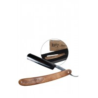 1907 Wood Handle Straight Razor