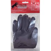 Get A Grip Gloves Black 2pk - Medium