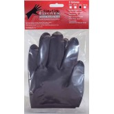 Get A Grip Gloves Black 2pk Large