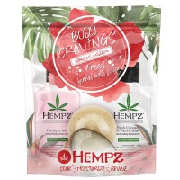Hempz Body Cravings Lotions + Fizzer 3pk