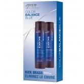 Joico Kick Brass Color Balance Blue Duo
