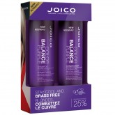 Joico Color Balance Purple Shampoo and  Conditioner 2pk 10.1oz