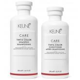 Keune Care Tinta Color Care Shampoo 10.1oz + Conditioner 8.5oz 2pk MAY ONLY