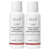 Keune Care Tinta Color Care Shampoo + Conditioner 2.7oz 2pk MAY ONLY