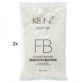 Keune Ultimate Blonde Freedom Blonde Lifting Powder Refill 17.6oz 2pk
