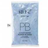 Keune Power Blonde Lift Powder Refill 2pk 17.6oz