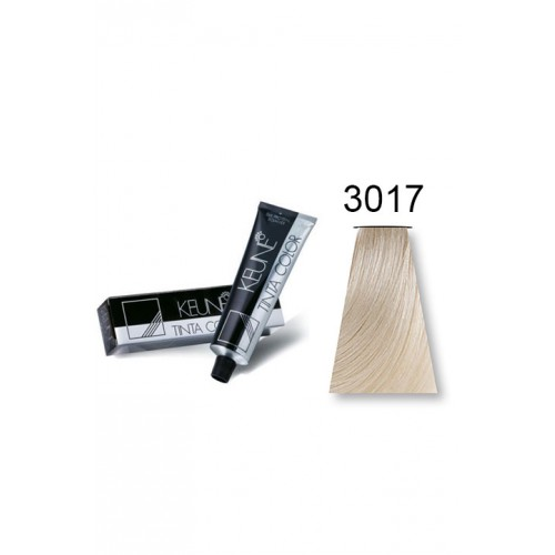 keune tinta color 3017 ultra ash violet blonde - Keune Color Swatch Book