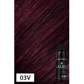 Lanza LIQUIDS Demi Gloss 03V Dark Violet Brown 3oz