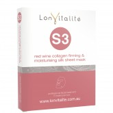 Lonvitalite S3 Red Wine Firming & Moisture Face Mask 5pk