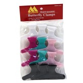 "Marianna Butterfly Clamps 3"" 12pk"